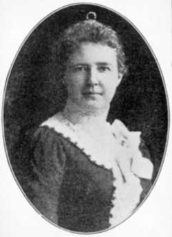 Harriette Kellog, curator of the herbarium 1903-1916